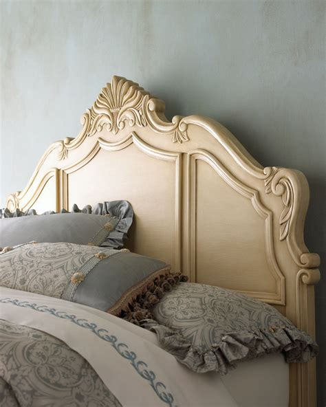 horchow headboards kelly cutrone s daughter ava s baroque bed popsugar home