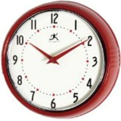kitchen clocks best red kitchen wall clocks large retro red apple and