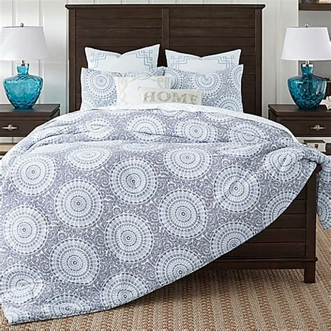 coastal living 174 floral medallion comforter set bed bath