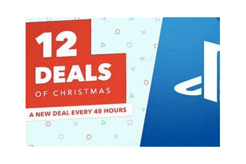 playstation 4 12 deals of christmas