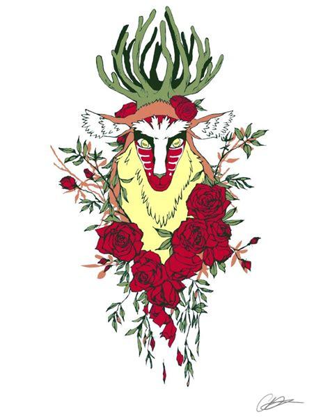 princess tattoo designs forest spirit by sturzstrom possible design i
