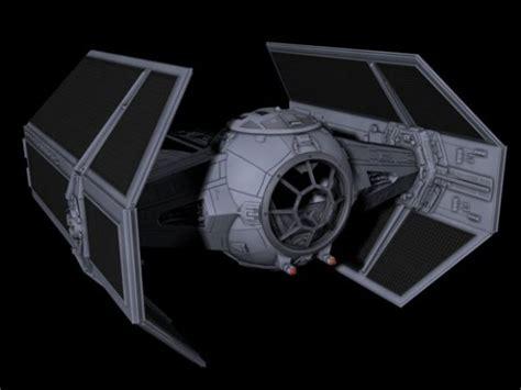 lord vader starwars x1 tie fighter 3d model 3ds sldprt