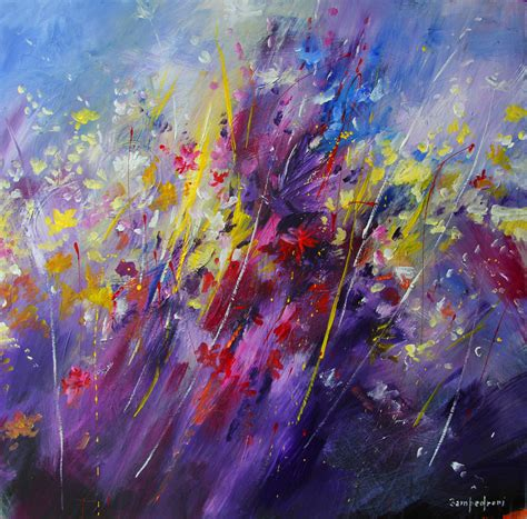 painting acrylic flowers a z the gallery for gt abstract acrylic paintings of flowers