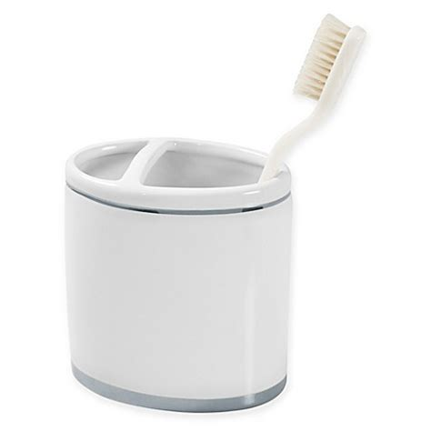 Ceramic Toothbrush Holder buy georgi platinum ceramic toothbrush holder from bed