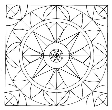 printable geometric coloring pages geometric coloring pages 5 coloring