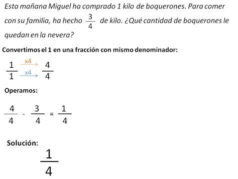 que preguntas de matematicas hacen en el icfes problemas con fracciones matem 225 ticas de primaria
