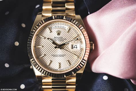 date on day in depth on with the new rolex day date 40 the