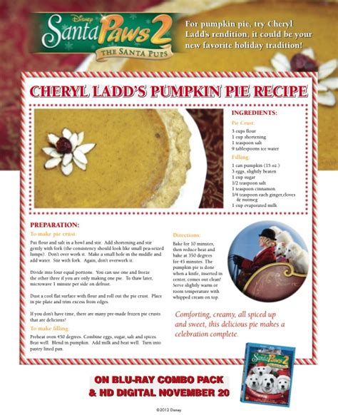 printable disney recipes free holiday printables and activities inspired by santa