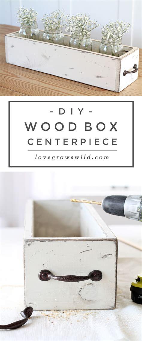 wood box centerpiece diy wood box centerpiece grows