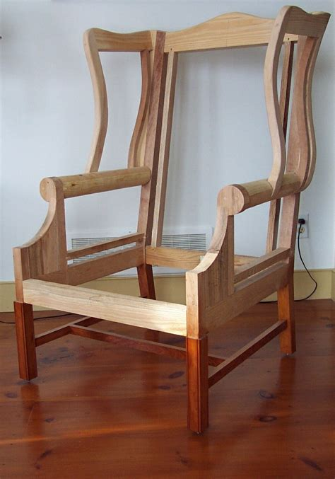 how to build an armchair upholstered wing chair finewoodworking