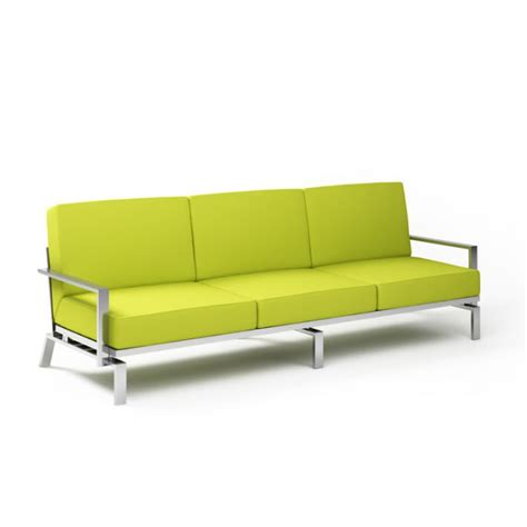 lime green sofa 3d model cgtrader