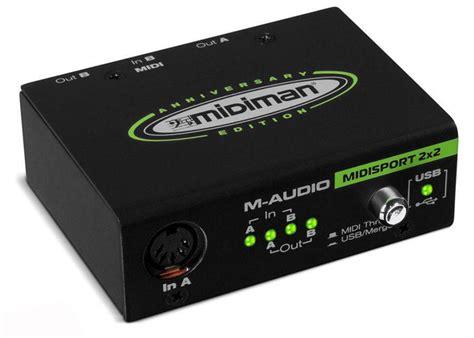 M Audio Midi Sport Uno 1 with the m audio usb midisport uno interface midi cable do i need m audio midisport interface
