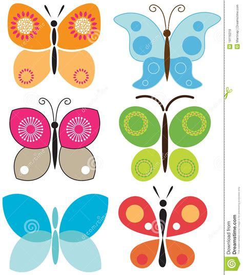 imagenes mariposas estilizadas conjunto de mariposas coloridas im 225 genes de archivo libres