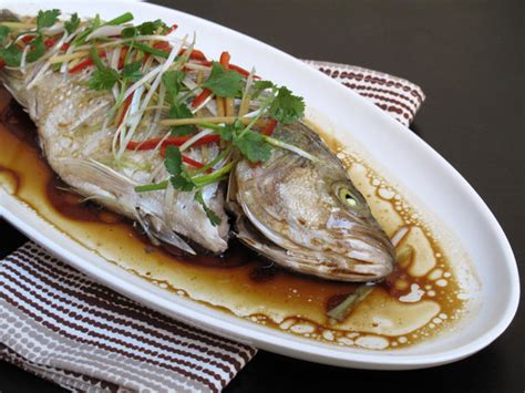 new year whole fish recipe steamed fish recipe popsugar food