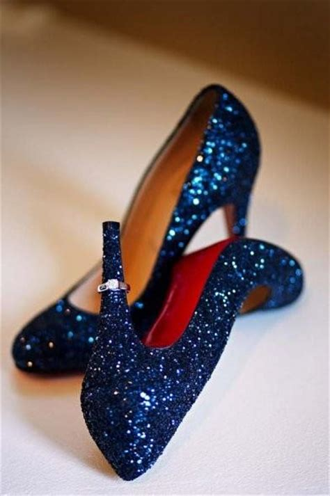 blue sparkly shoes for navy wedding navy blue wedding color palettes 798877
