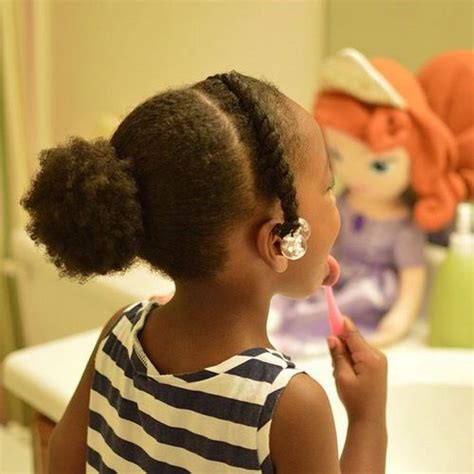 Wedding Hairstyles For Black Toddlers by 20 Adorable Toddler Hairstyles