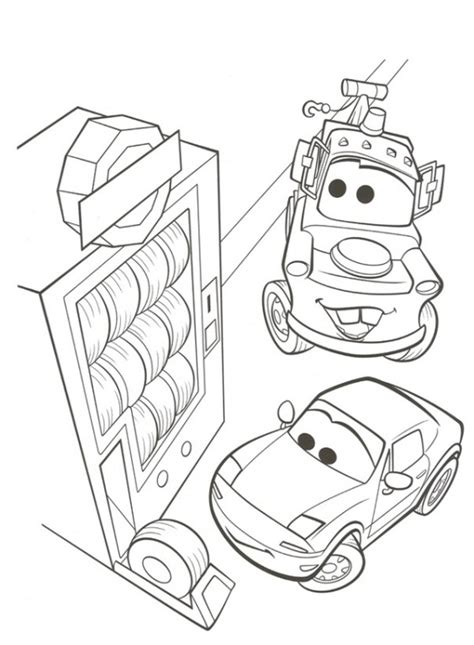 Coloring Page Cars 2 by N 38 Coloring Pages Of Cars 2