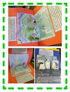 pop up book report book report pop up book easy directions artistic