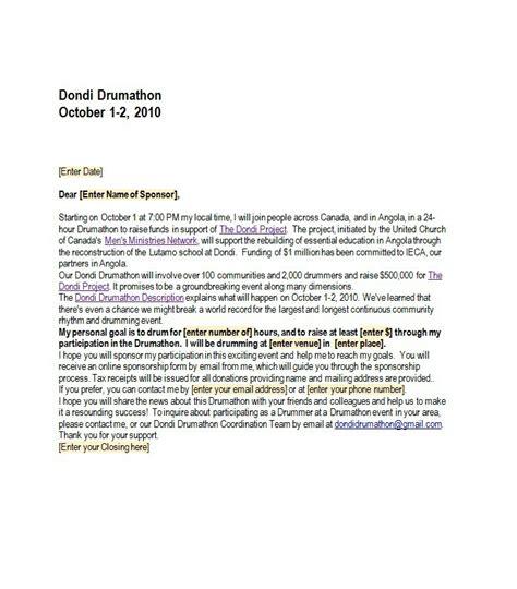 Sponsorship Letter Validity 43 Free Sponsorship Letter Sponsorship Templates Free Template Downloads