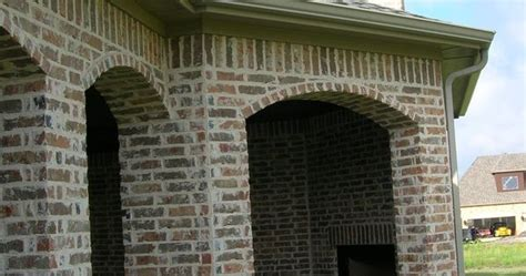 mortar washed brick mortar rubbed brick pinterest