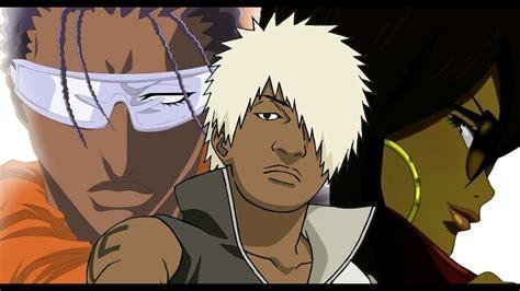 black anime characters youtube