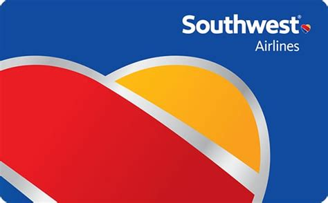 Gift Cards For Southwest Airlines - southwest airlines gift card