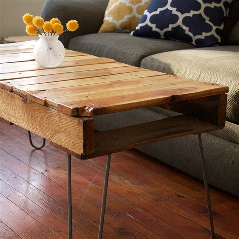 How To Make A Coffee Table From Pallets Diy Pallet Coffee Table Kept