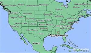 montgomery map where is montgomery al where is montgomery al located