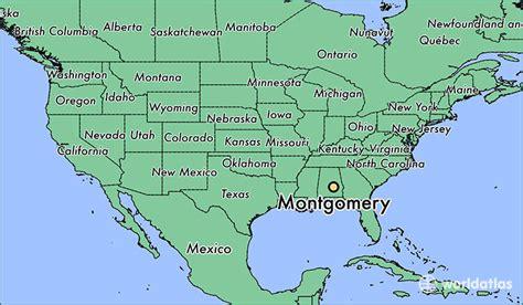 montgomery alabama map where is montgomery al montgomery alabama map