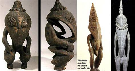 imagenes extrañas de ovnis antiguos extraterrestres en nueva guinea extra 241 as figuras