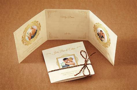 tri fold wedding invitation template 18 tri fold wedding invitation templates free premium