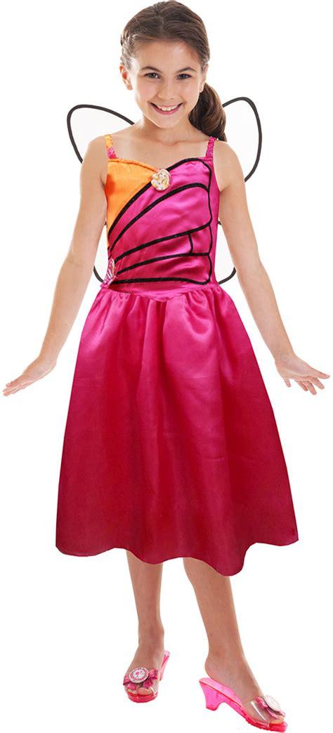 barbie mariposa prinzessinnen kostuem fuer maedchen kostueme
