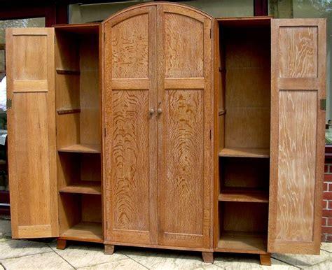 4 door armoire heals oak 4 door wardrobe antiques atlas