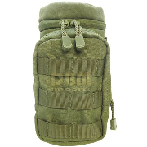 od green molle hydration pouch water bottle carrier
