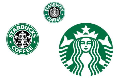 design a starbucks logo logo design according to zeitgeist times change logos