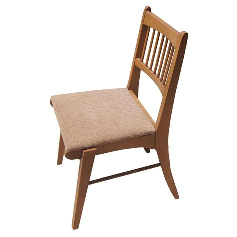 modern wood chair vintage mid century modern wood side chair ebay