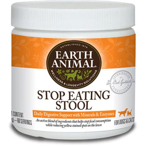 Eat Stool by Earth Animal Stop Stool 8oz
