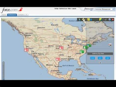 """""""map contacts for salesforce"""" adds mapping and routing"""