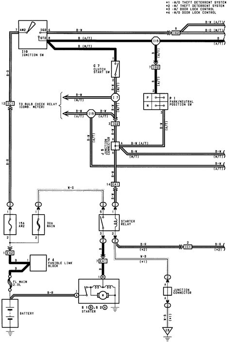 96 toyota paseo wiring diagram for coil pack to ecu not