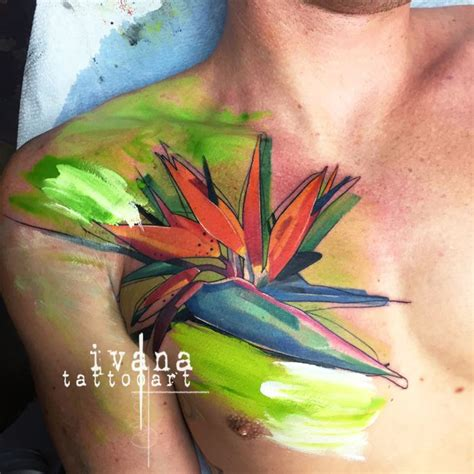 bird of paradise flower tattoo designs bird of paradise best ideas designs