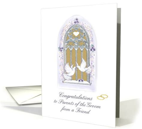 Wedding Congratulations To Groom S Parents by Congratulations To Groom S Parents Card 469907