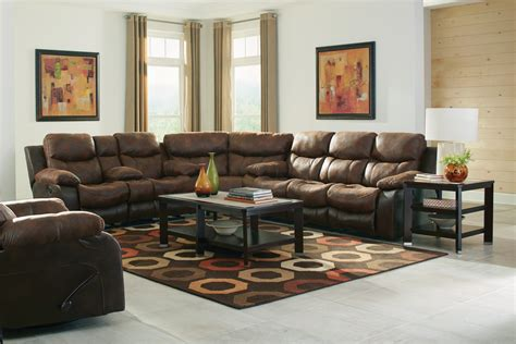 Catnapper Henderson Reclining Sectional Sofa Set Sunset Catnapper Sectional Sofa