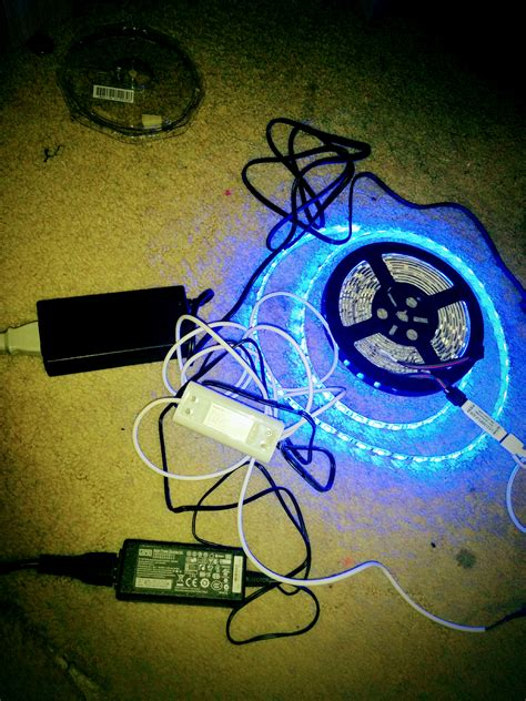philips hue light power supply philips hue light hack 5050 rgb smd for stairs