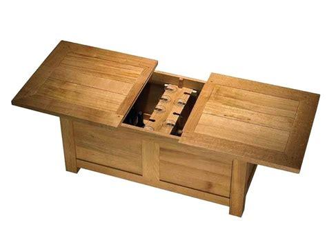 table basse avec coffre rangement tendancesdesign fr
