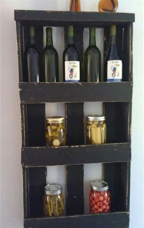 Wine Rack Made From Pallets by Wine Racks And Bars Made Of Recycled Wooden Pallets