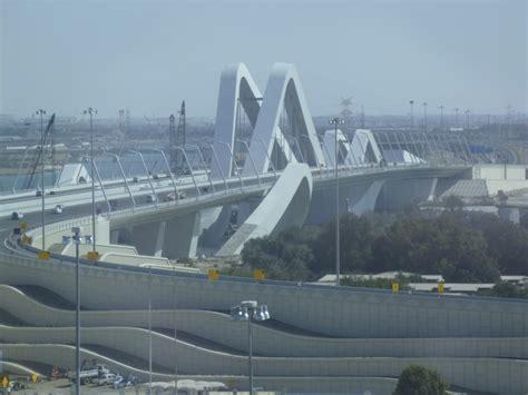 Home Design Of Architecture by Sheikh Zayed Bridge Abu Dhabi Rogier Van Der Heide