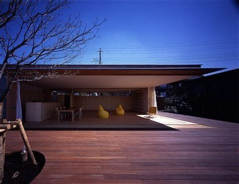 eaves house modern japanese architecture by tezuka architects