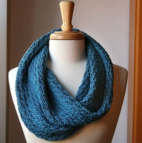 knitting pattern scarf infinity infinity circle scarf knitting pattern snood loop