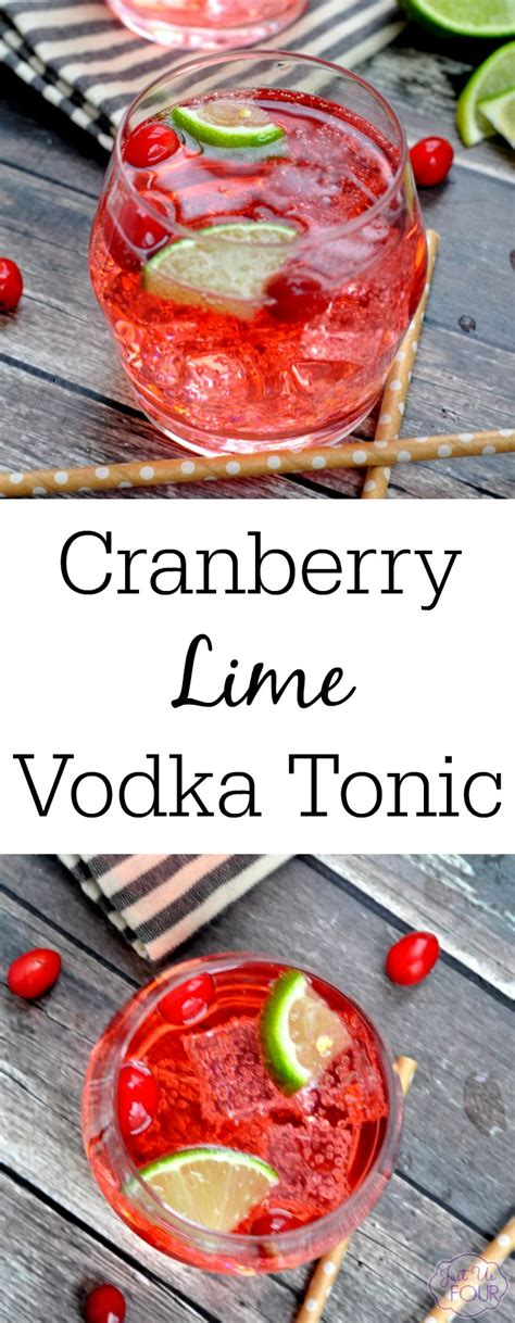 Cranberry Lime Vodka Tonic My Suburban Kitchen