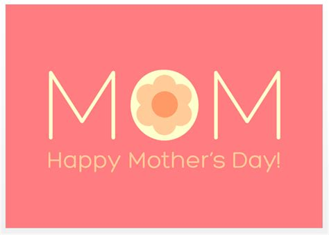 mothers day cards templates microsoft word design a beautiful s day card in microsoft word